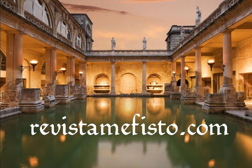 Perjalanan Menuju Situs Sejarah Romawi Bernama Roman Baths