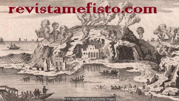 peradaban Baia musnah akibat gunung api