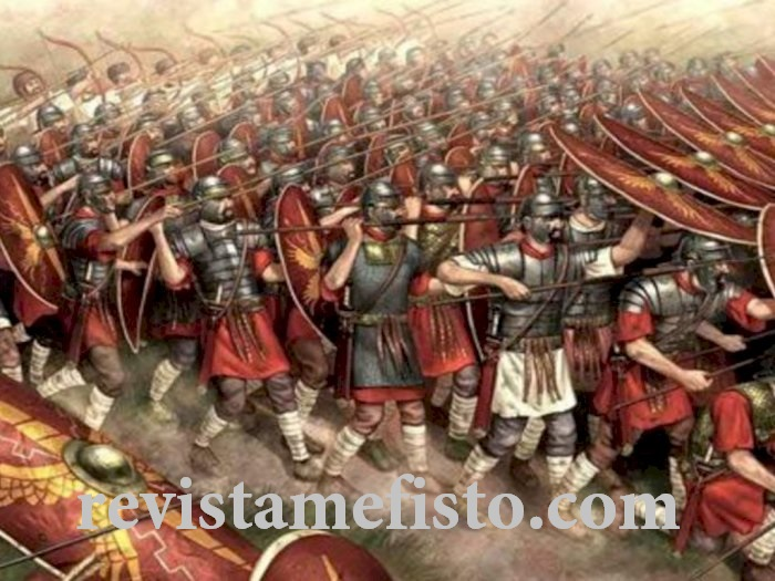 Alat Utama Kesuksesan Akibat Legiun Romawi